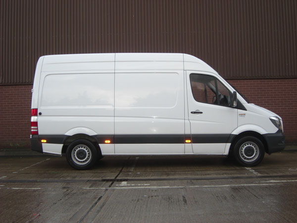 MWB van for hire